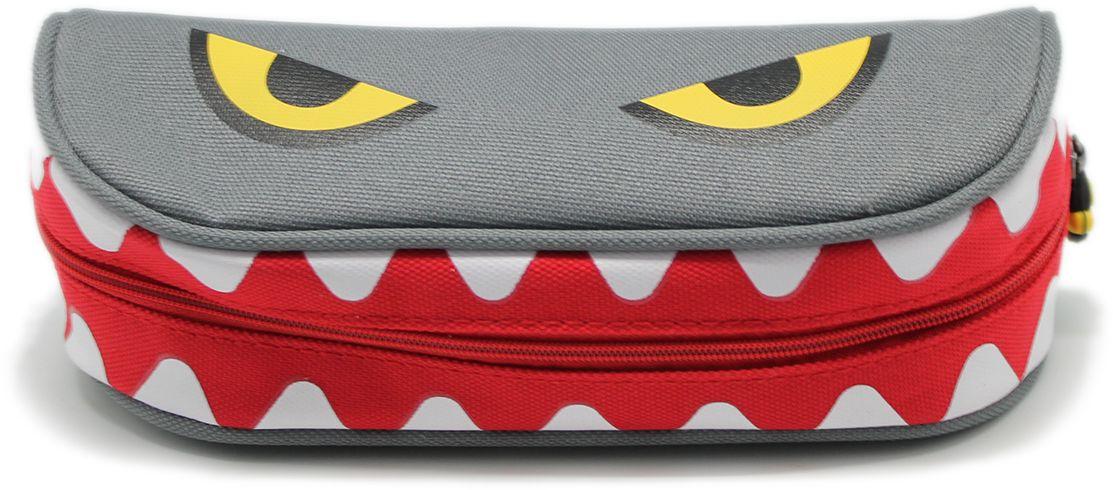 Еж-стайл Пенал Yum-Yum Monster цвет серый еж стайл закладка винтаж ключ и замок