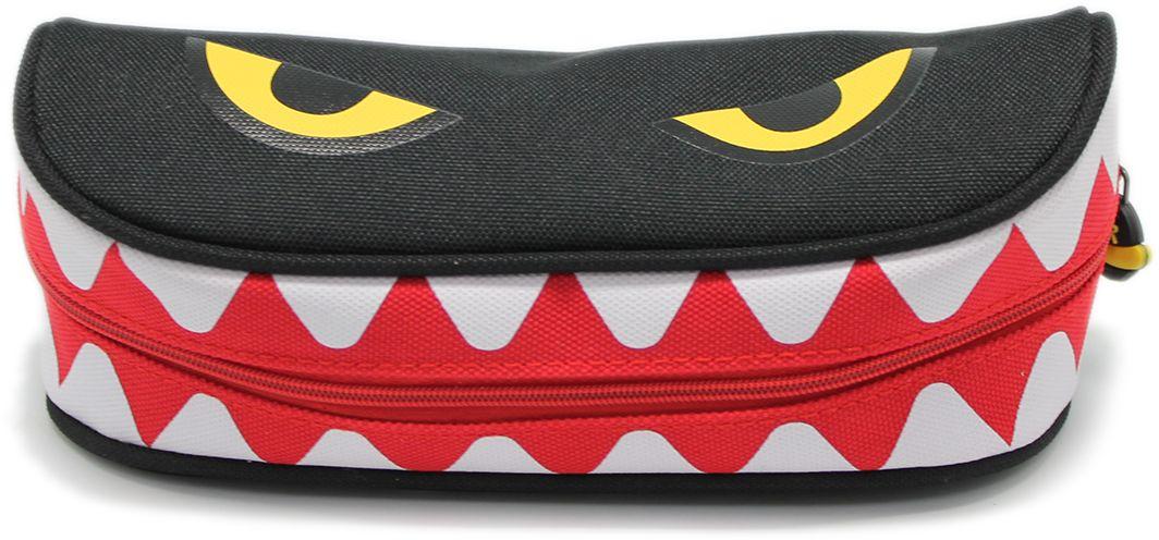 Еж-стайл Пенал Yum-Yum Monster цвет черный еж стайл закладка винтаж ключ и замок