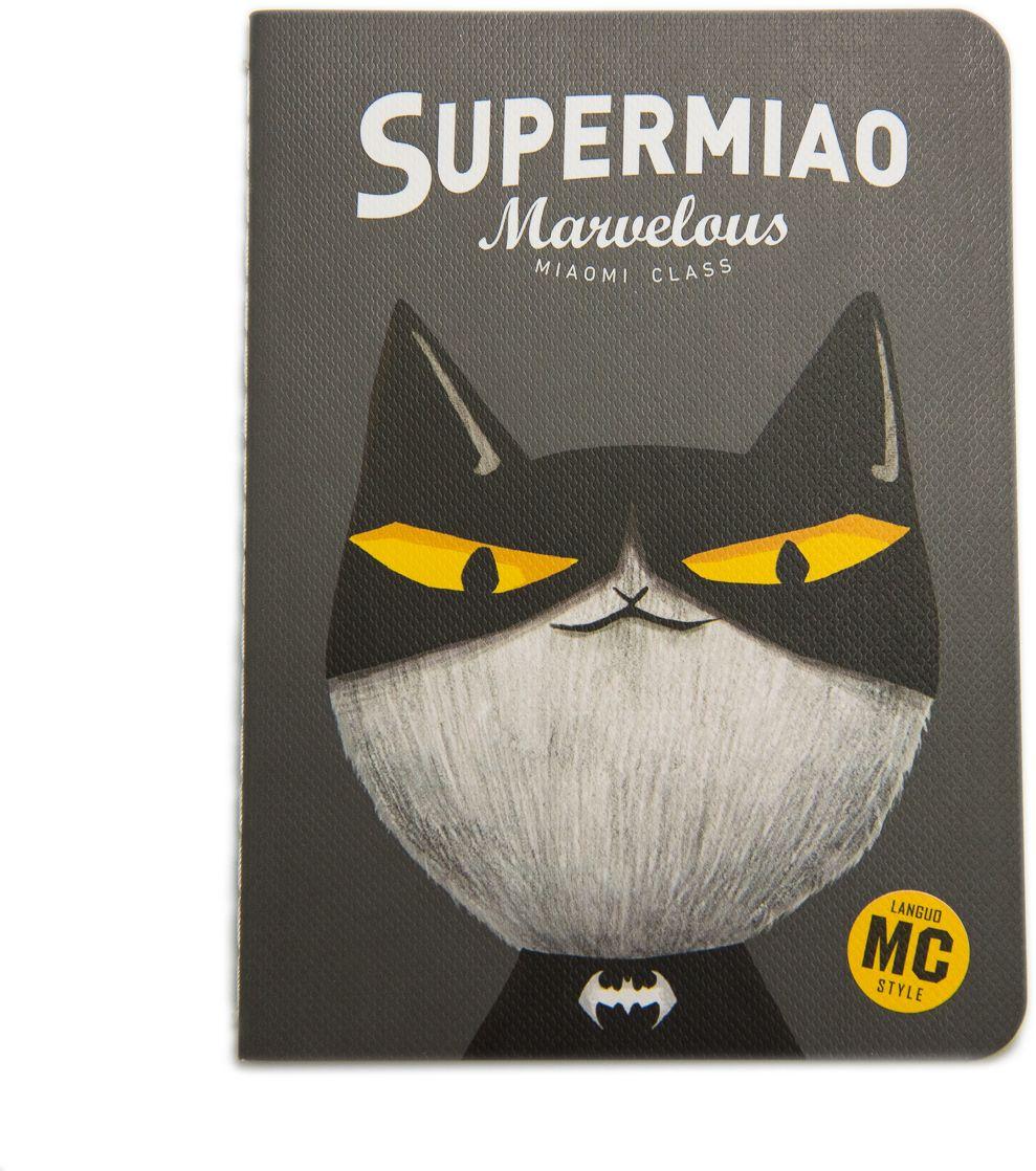Еж-стайл Блокнот Supermiao 2 Batman 24 листа в линейку еж стайл закладка винтаж ключ и замок