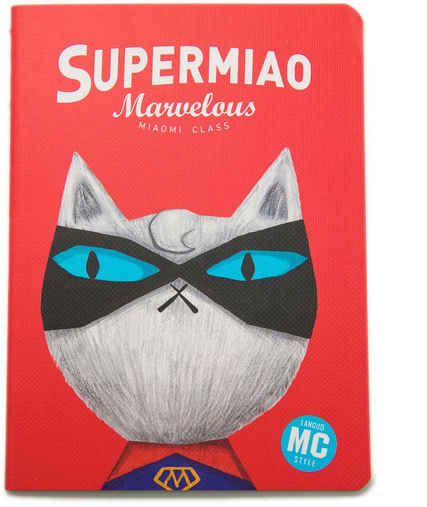 Еж-стайл Блокнот Supermiao 2 Superman в линейку 24 листа