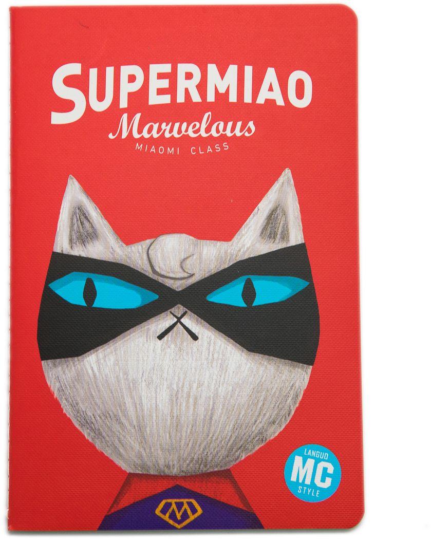 Еж-стайл Тетрадь Supermiao 2 Superman A5 38 листов в линейку