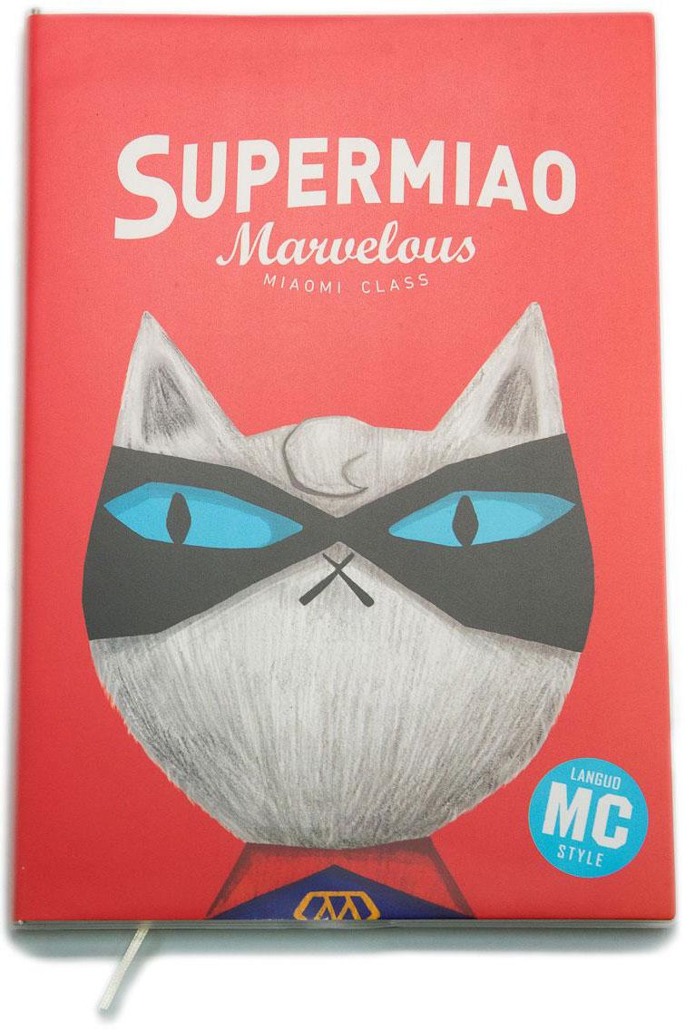 Еж-стайл Тетрадь Supermiao 2 Superman 80 листов в линейку еж стайл закладка винтаж ключ и замок