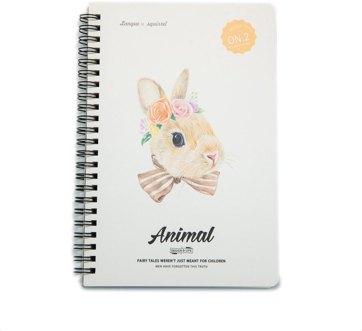 Еж-стайл Тетрадь Animal Rabbit 2 A5 68 листов в линейку еж стайл тетрадь deep in the meadow гусь 38 листов в линейку