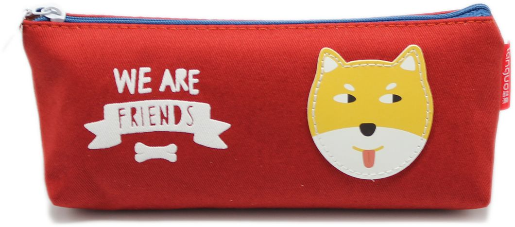 Еж-стайл Пенал We Are Friends цвет красный цена
