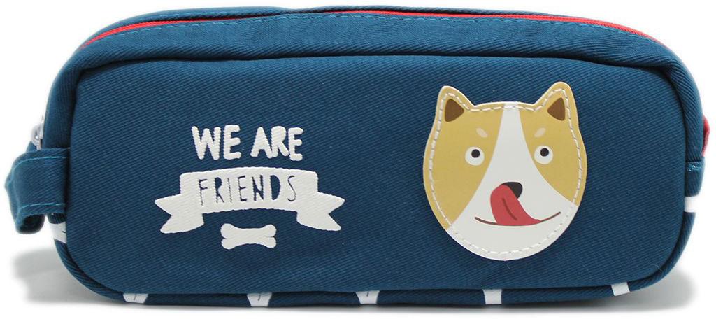Еж-стайл Пенал-косметичка We Are Friends цвет синий цена