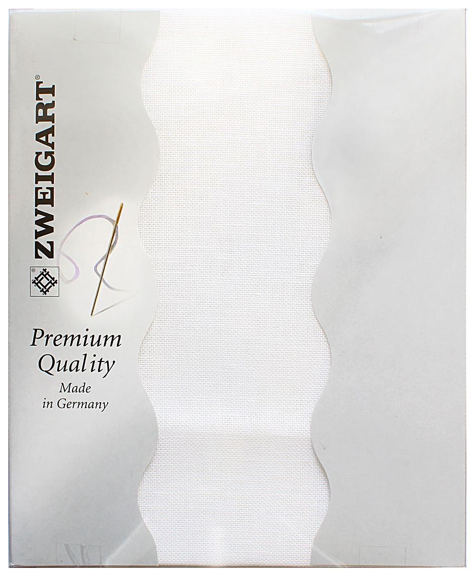 "Канва для вышивания Zweigart ""Cashel 28"", цвет: белый, 50 х 70 см. 3281/100"