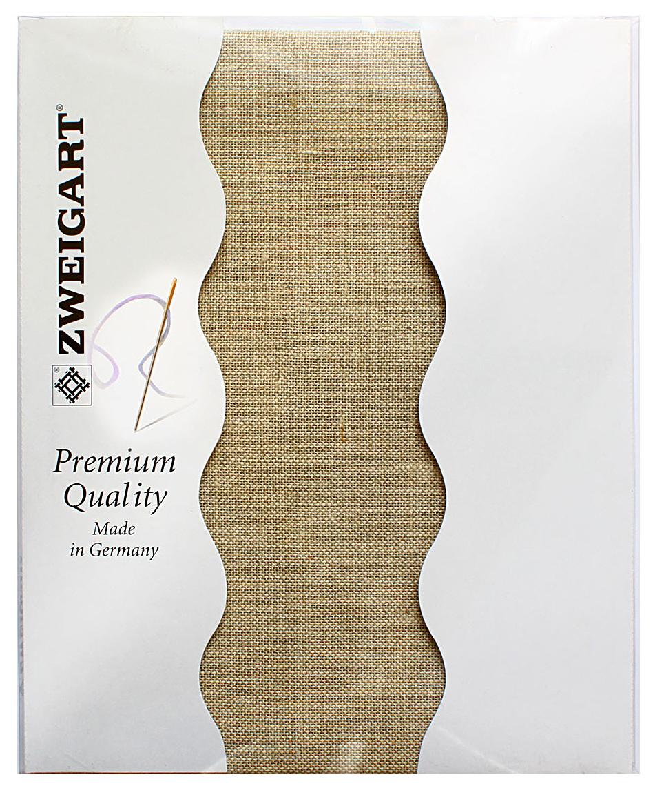 Канва для вышивания Zweigart Cashel 28, цвет: лен, 50 х 70 см. 3281/53 канва с рисунком для вышивания орхидеи 28 х 34 см 1316