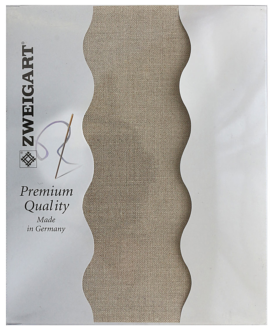 Канва для вышивания Zweigart Belfast 32, цвет: серо-бежевый, 50 х 70 см. 3609/53 schleich фигурка горилла самец 14770