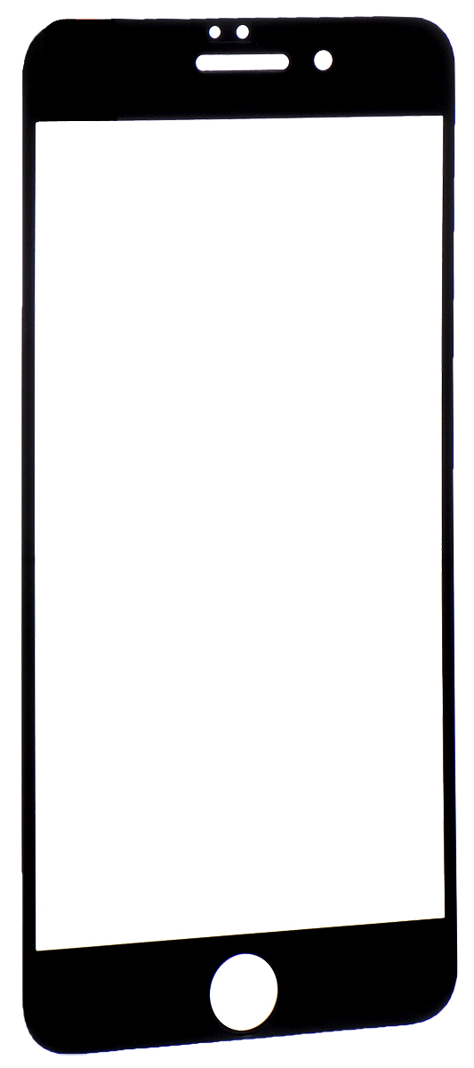 Interstep защитное стекло с рамкой 2.5D для Apple iPhone 7 Plus, Black