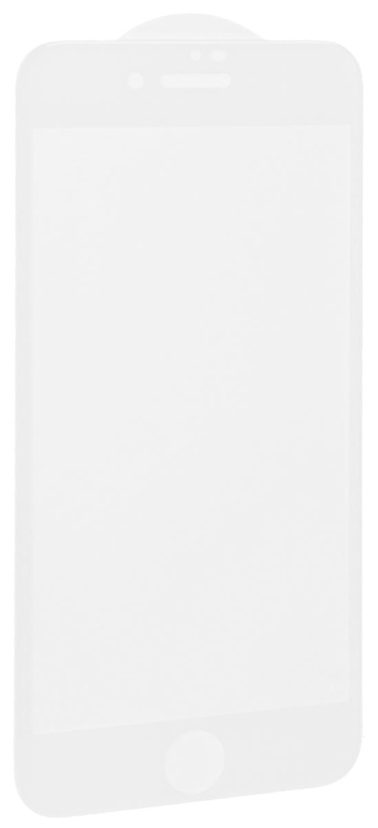 Interstep защитное стекло с рамкой 3D для Apple iPhone 8, White