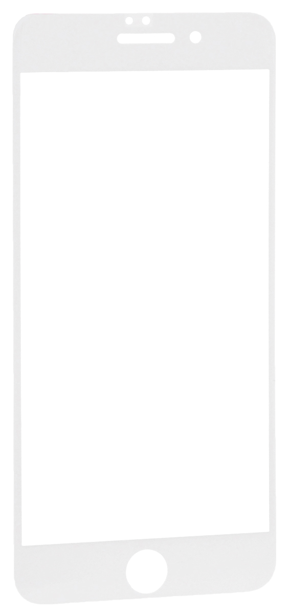 Interstep защитное стекло с рамкой 2.5D для Apple iPhone 7 Plus, White