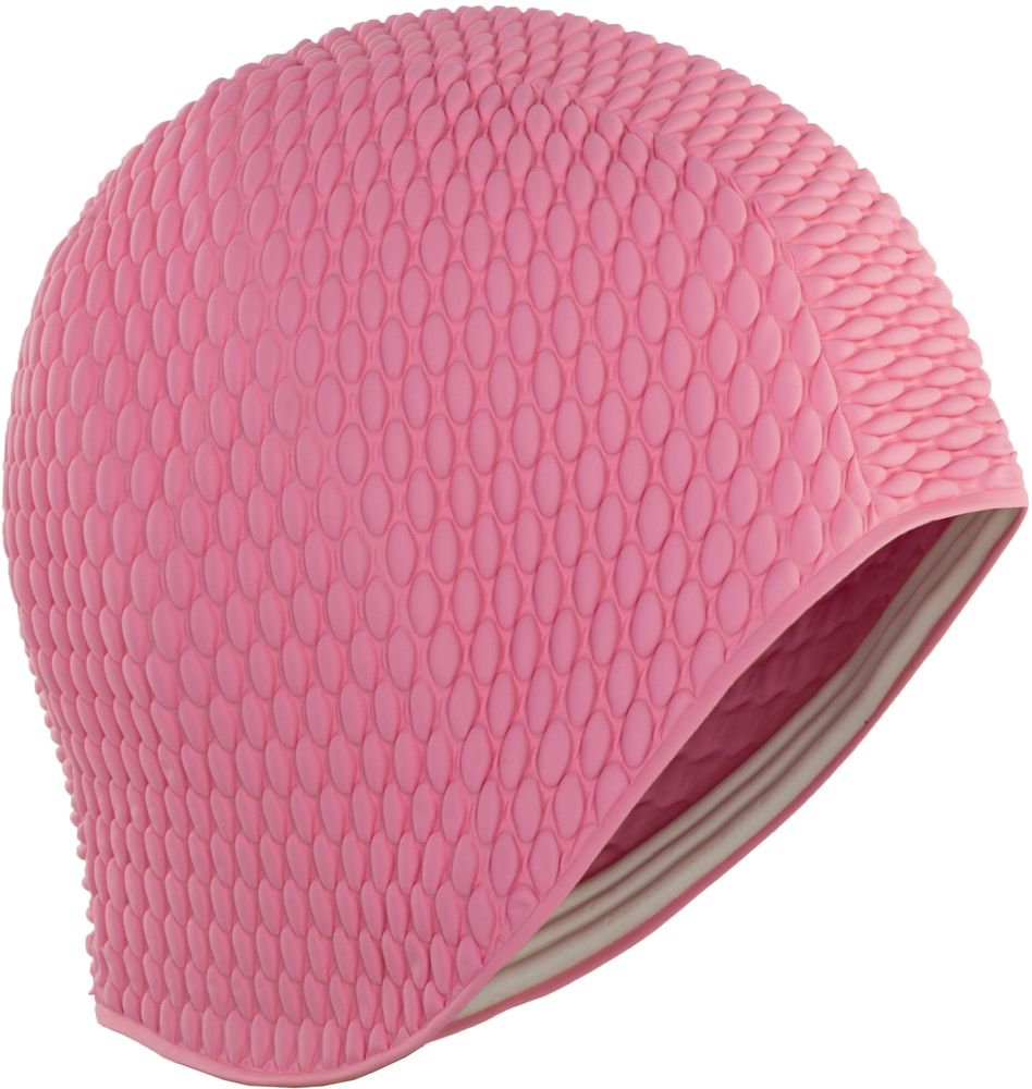 Фото - Шапочка для плавания Larsen Бабл-кап, цвет: розовый шапочка для плавания larsen бабл кап цвет голубой
