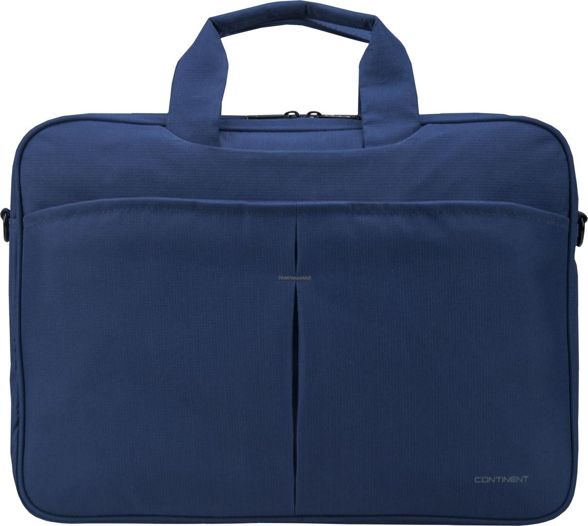 """Continent CC-012, Blue сумка для ноутбука 15,6"""""""