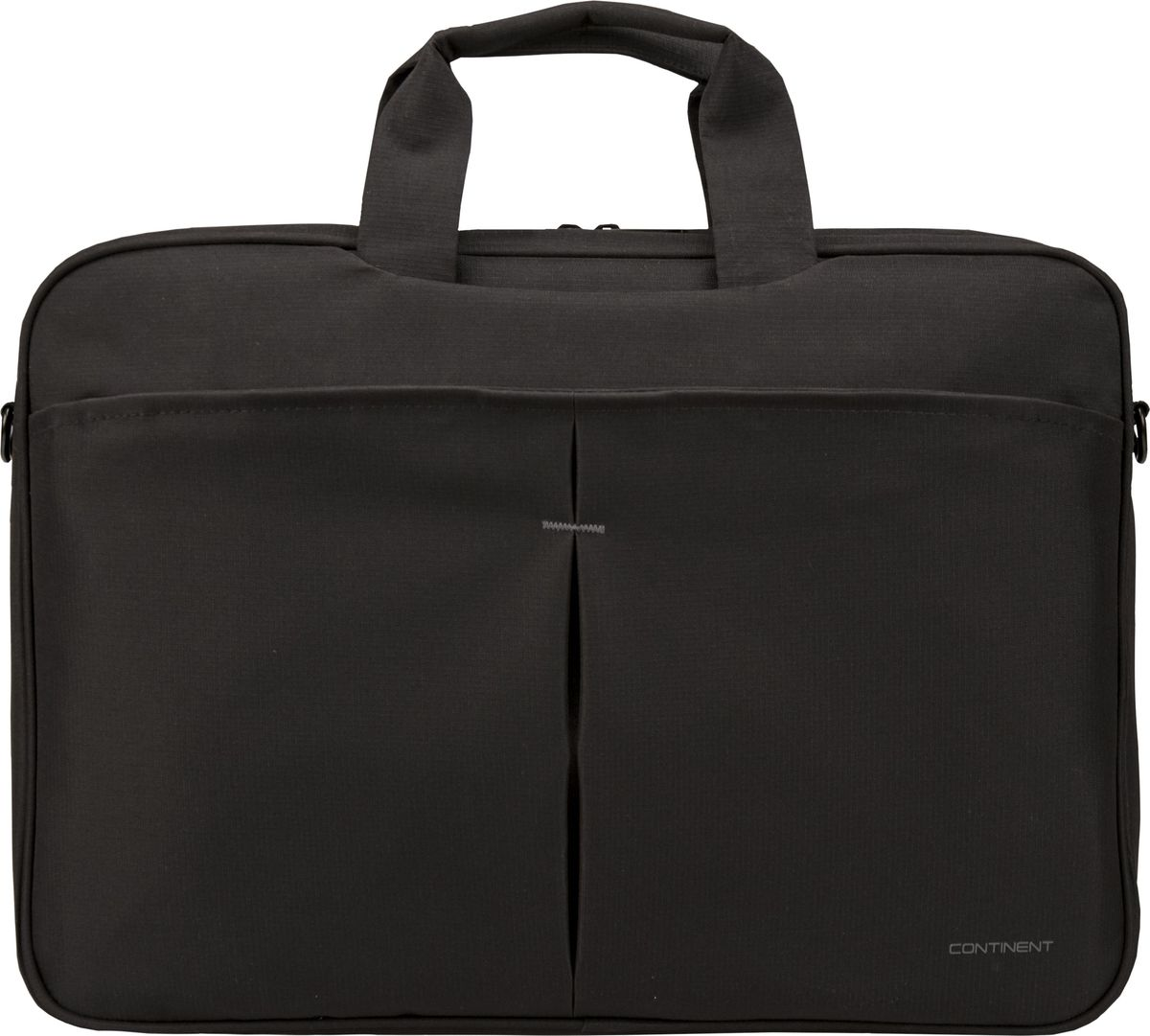 "Continent CC-018, Black сумка для ноутбука 17"""