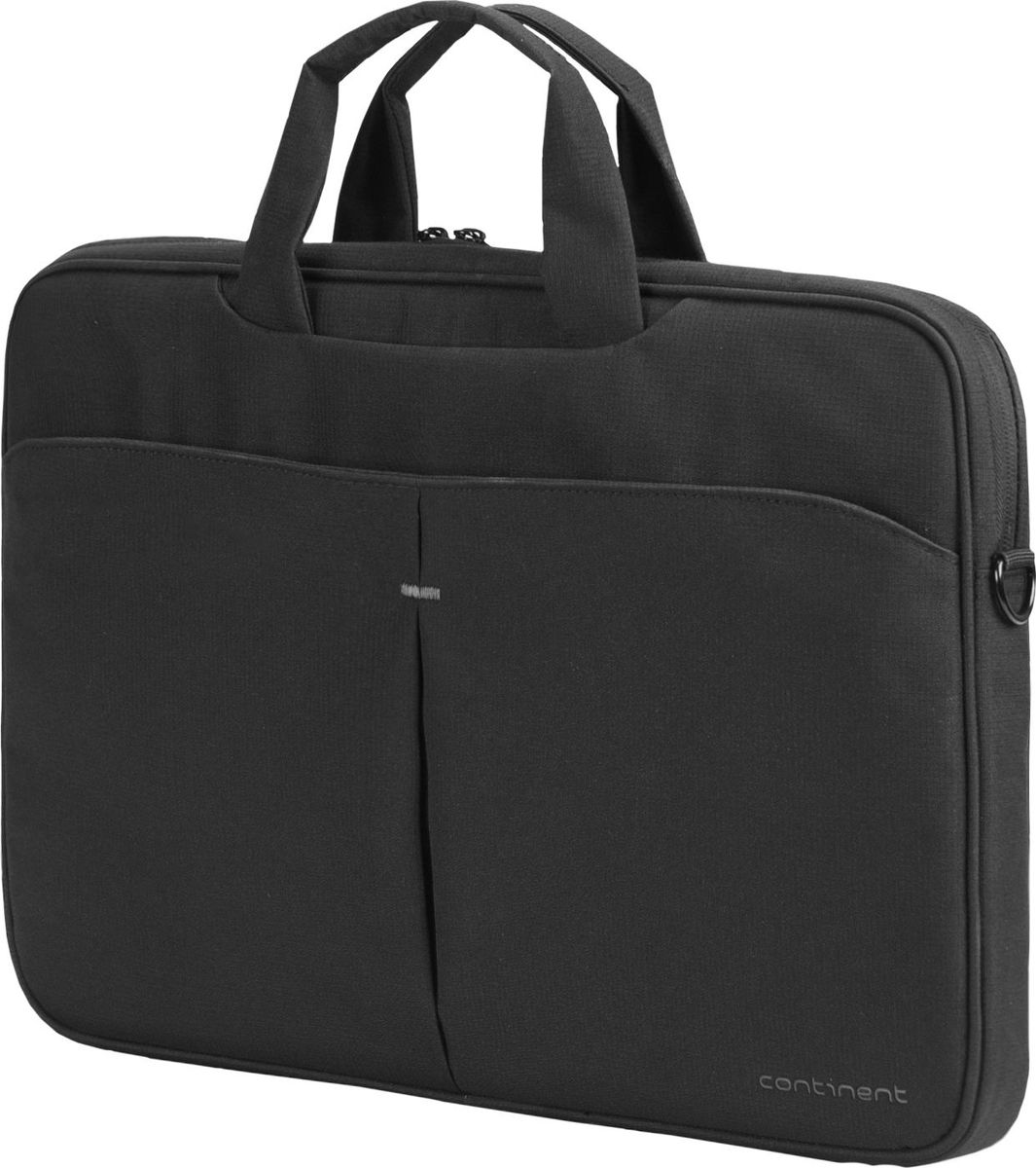 "Continent CC-012, Black сумка для ноутбука 15,6"""