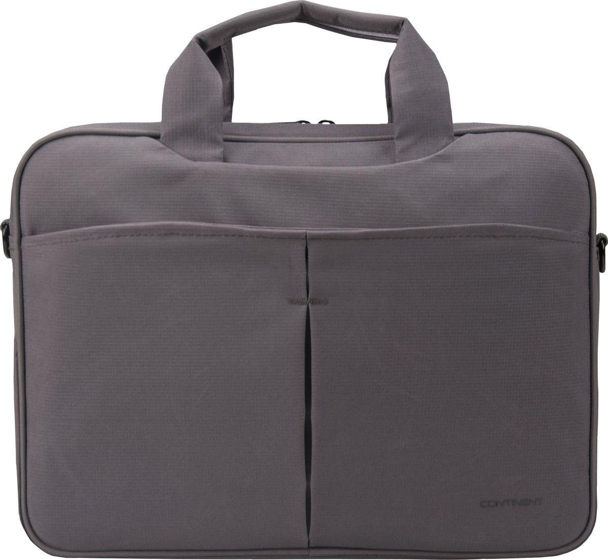 "Continent CC-014, Grey сумка для ноутбука 13,3"""