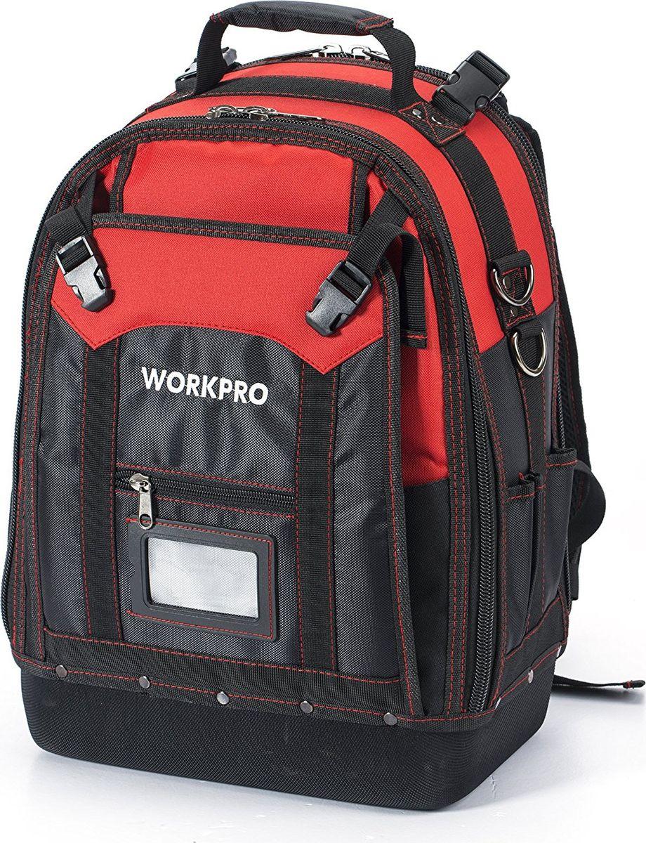 Рюкзак для инструмента Workpro, 37 карманов рюкзак workpro w081065ch для инструмента повышенной прочности 37 карманов подарок стриппер и но