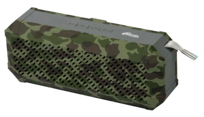 Беспроводная колонка Ritmix SP-260B, Army Khaki