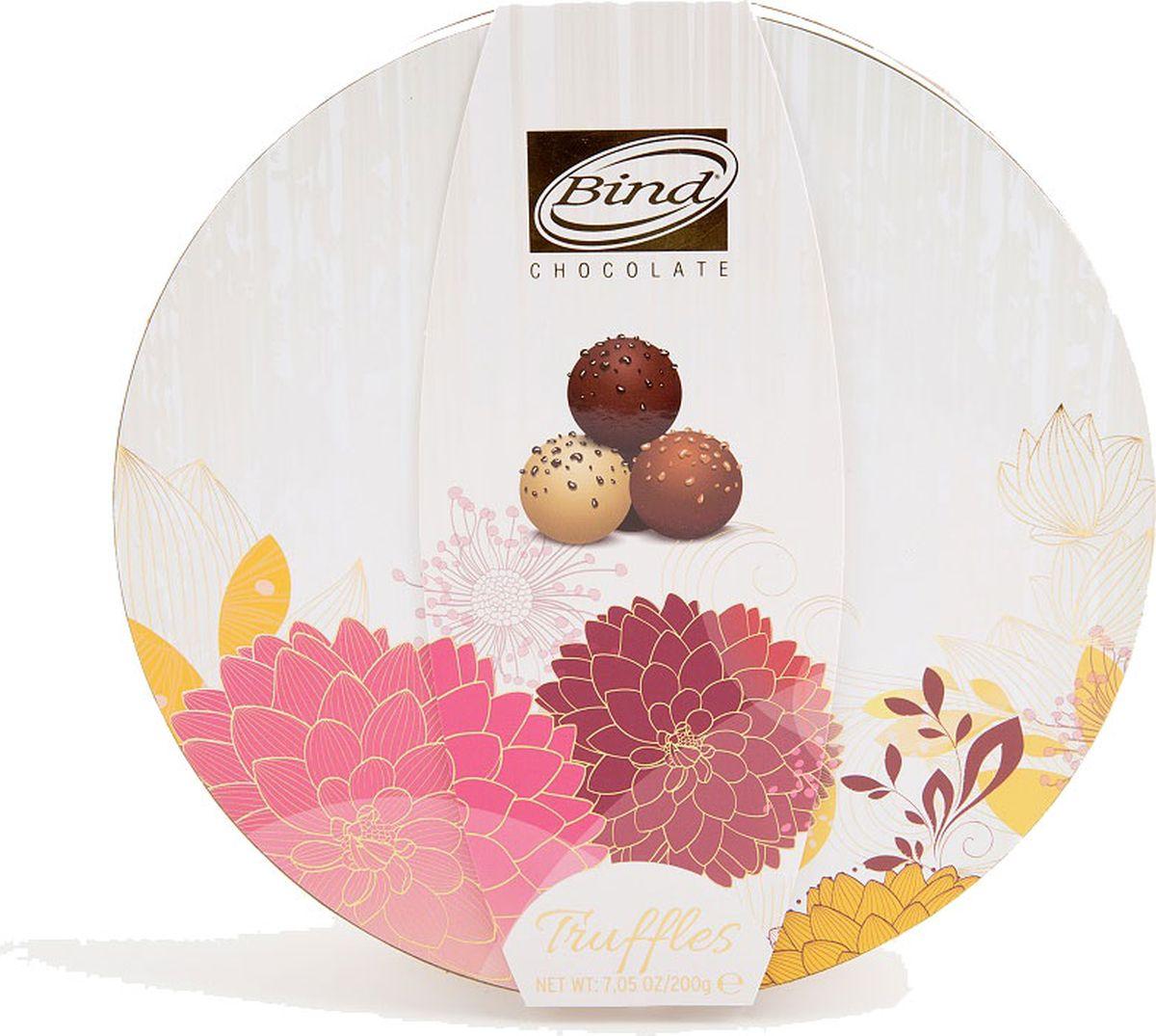 Bind Трюфель набор шоколадных конфет, 200 г набор шоколадных конфет the belgian 200 г