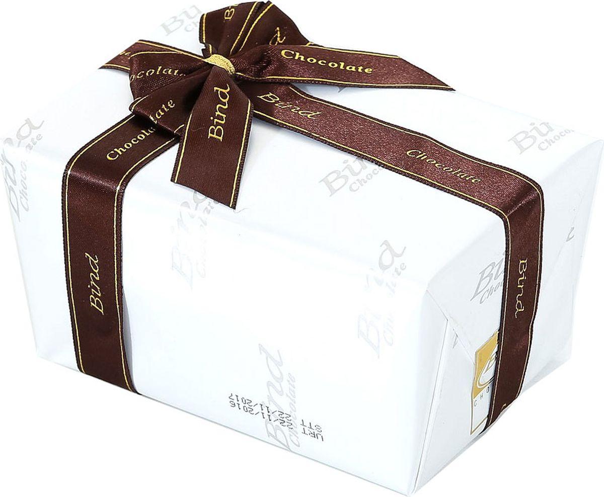 Bind набор шоколадных конфет белый, 110 г tomer набор шоколадных конфет tomer ассорти лесной орех 250г