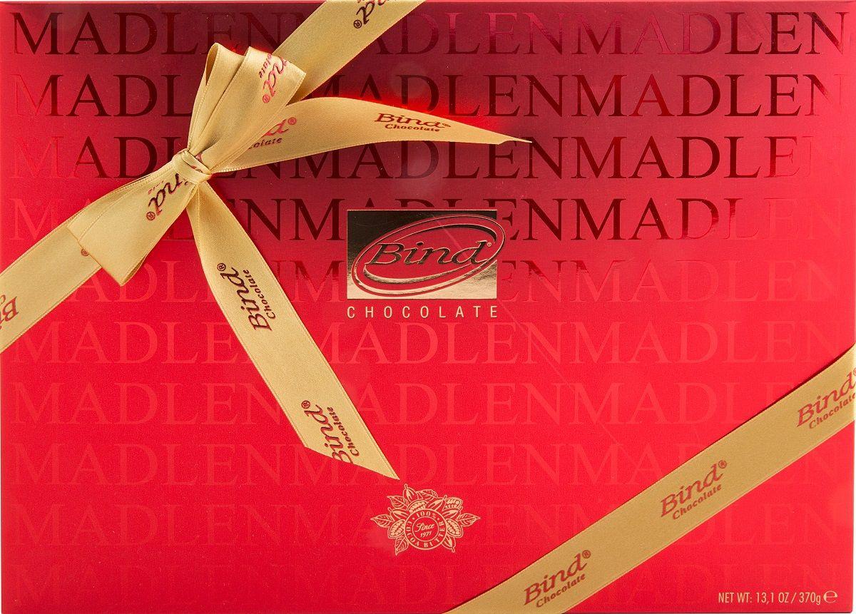 Bind Мадлен-ред набор шоколада, 370 г захаренков в ред ароматы здоровья