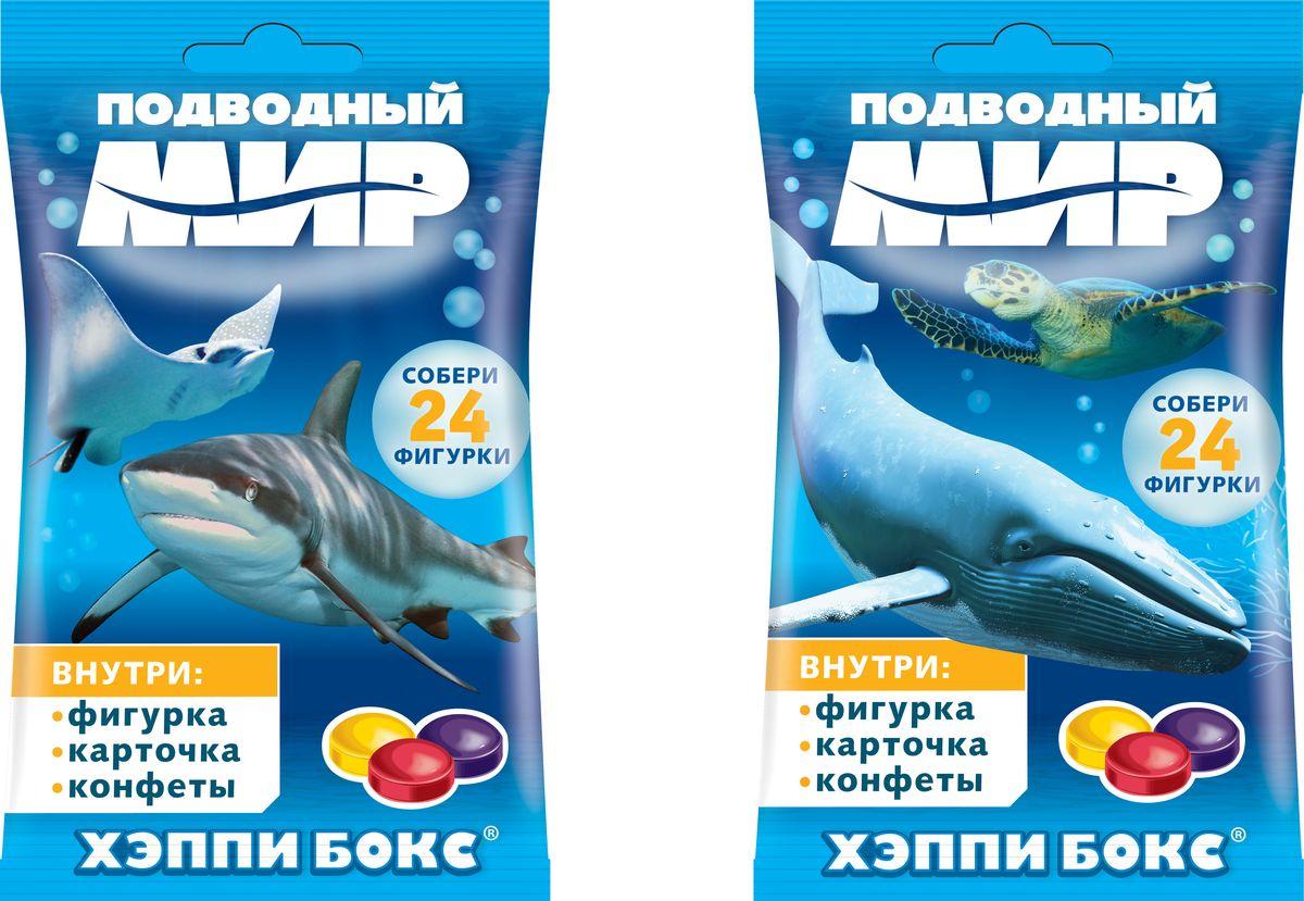 Сладкая Сказка Happy Box Подводный мир карамель с игрушкой, 18 г леденцы с игрушкой happy box три кота 18 г