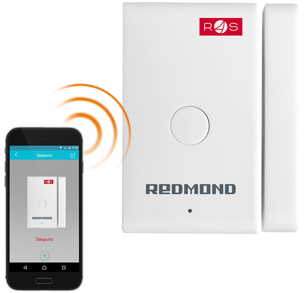 лучшая цена Redmond SkyGuard RG-G31S, White умный герконовый датчик