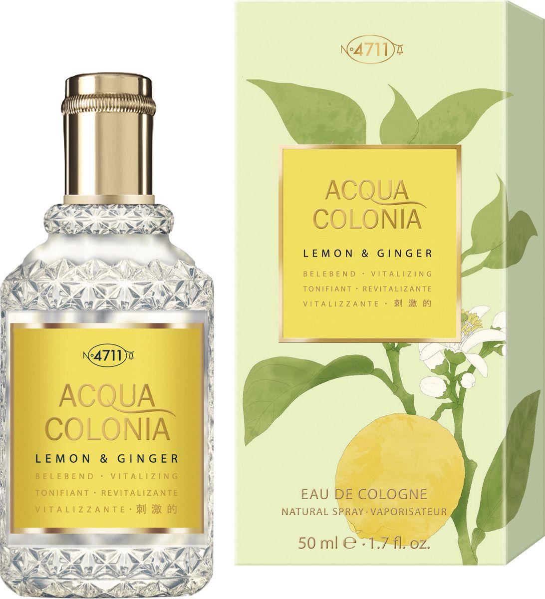 4711 Acqua Colonia Vitalizing Lemon & Ginger 50 мл