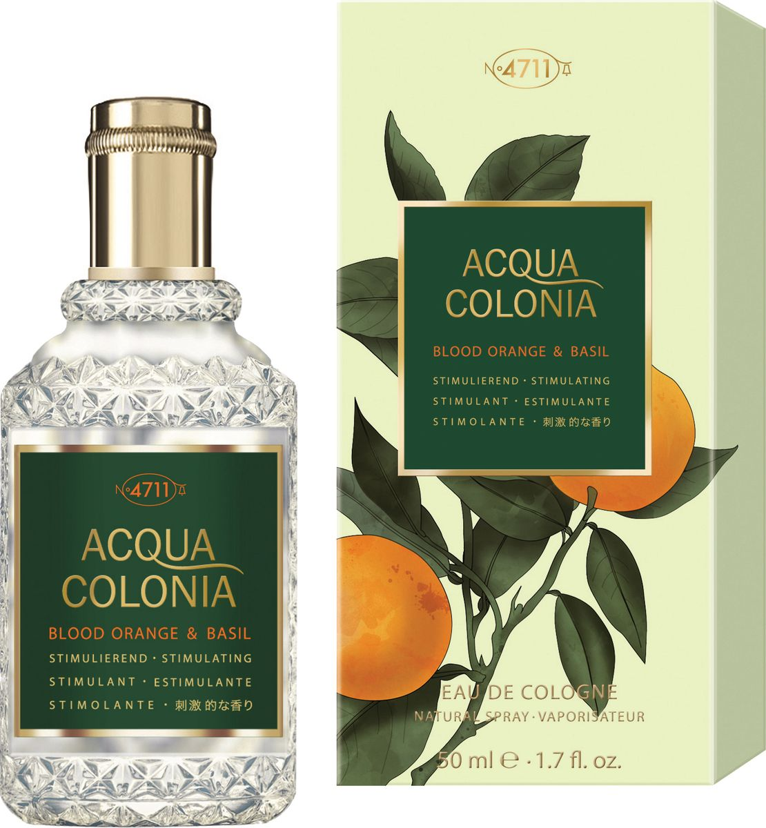 4711 Acqua Colonia Stimulating Blood Orange & Basil 50 мл blood orange toronto