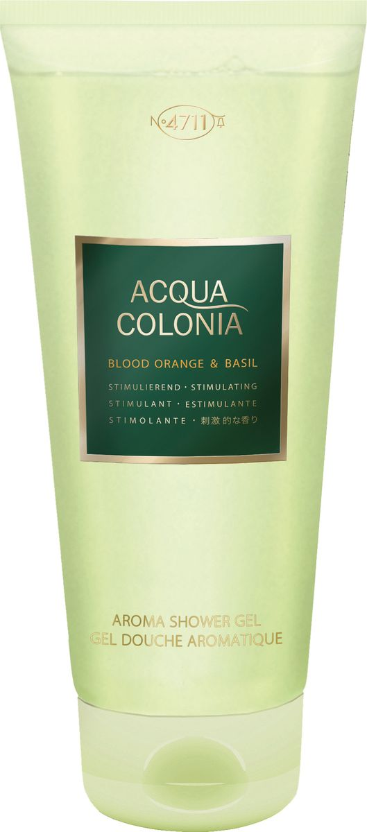 4711 Acqua Colonia Stimulating Blood Orange & Basil Гель для душа, 200 мл blood orange toronto