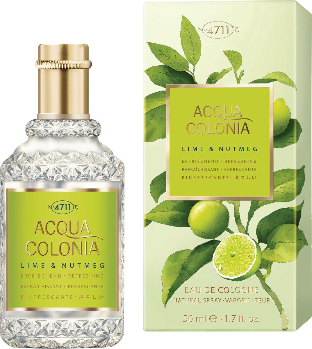 4711 Acqua Colonia Refreshing Lime & Nutmeg 50 мл