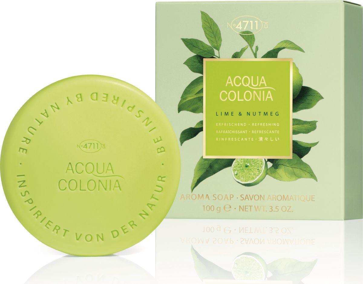 цена на 4711 Acqua Colonia Refreshing Lime & Nutmeg Мыло, 100 г