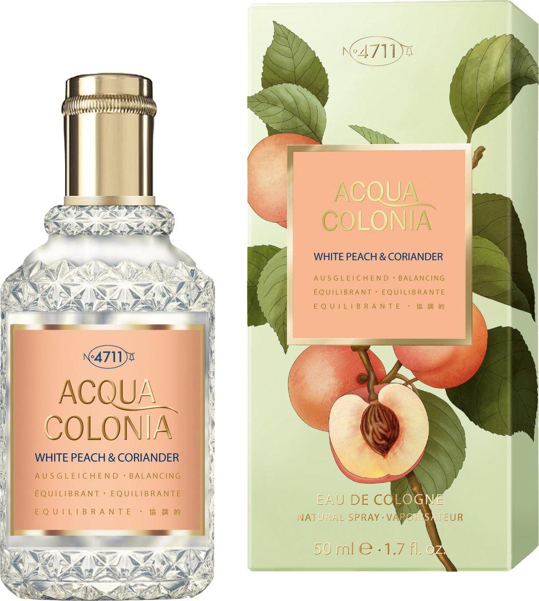 4711 Acqua Colonia Balancing White Peach & Coriander 50 мл