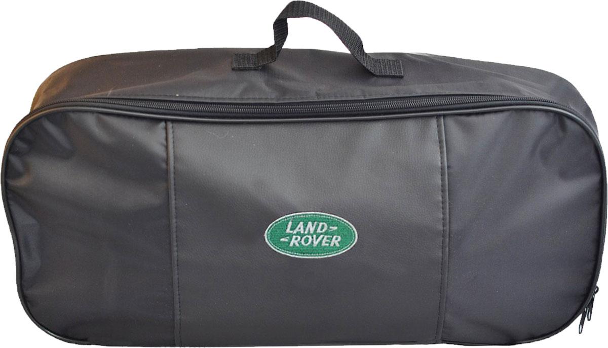 Набор аварийный в сумке Autopremium с логотипом Land Rover67369Автомобильный набор в сумке с логотипом оснащен базовыми элементами, которые необходимы каждому автолюбителю. Состав набора: - аптечка первой помощи автомобильная; - трос буксировочный 5т/пет/пакет; - Огнетушитель порошковый ОП-2(з) -АВСЕ, с металлическим ЗПУ; - знак аварийной остановки; - сумка для набора техосмотра Премиум со вставкой из экокожи и вышивкой. Размер сумки 47х21х13.