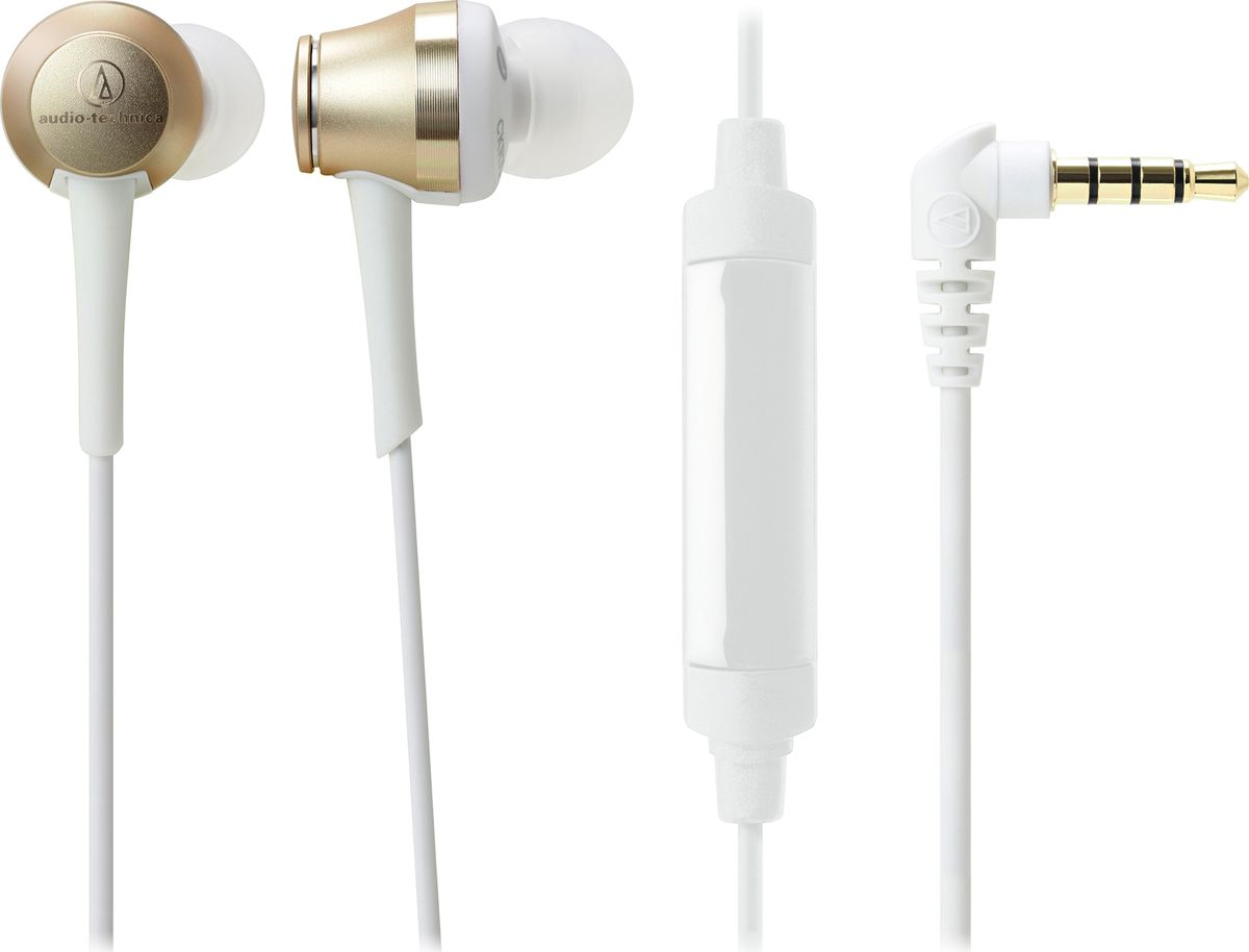 Audio-Technica ATH-CKR70IS, White Gold наушники