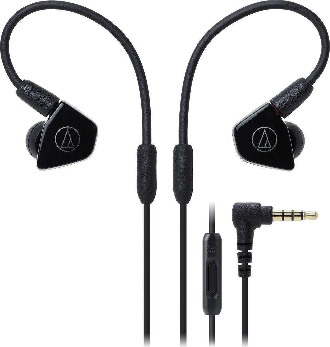 Audio-Technica ATH-LS50IS, Black наушники