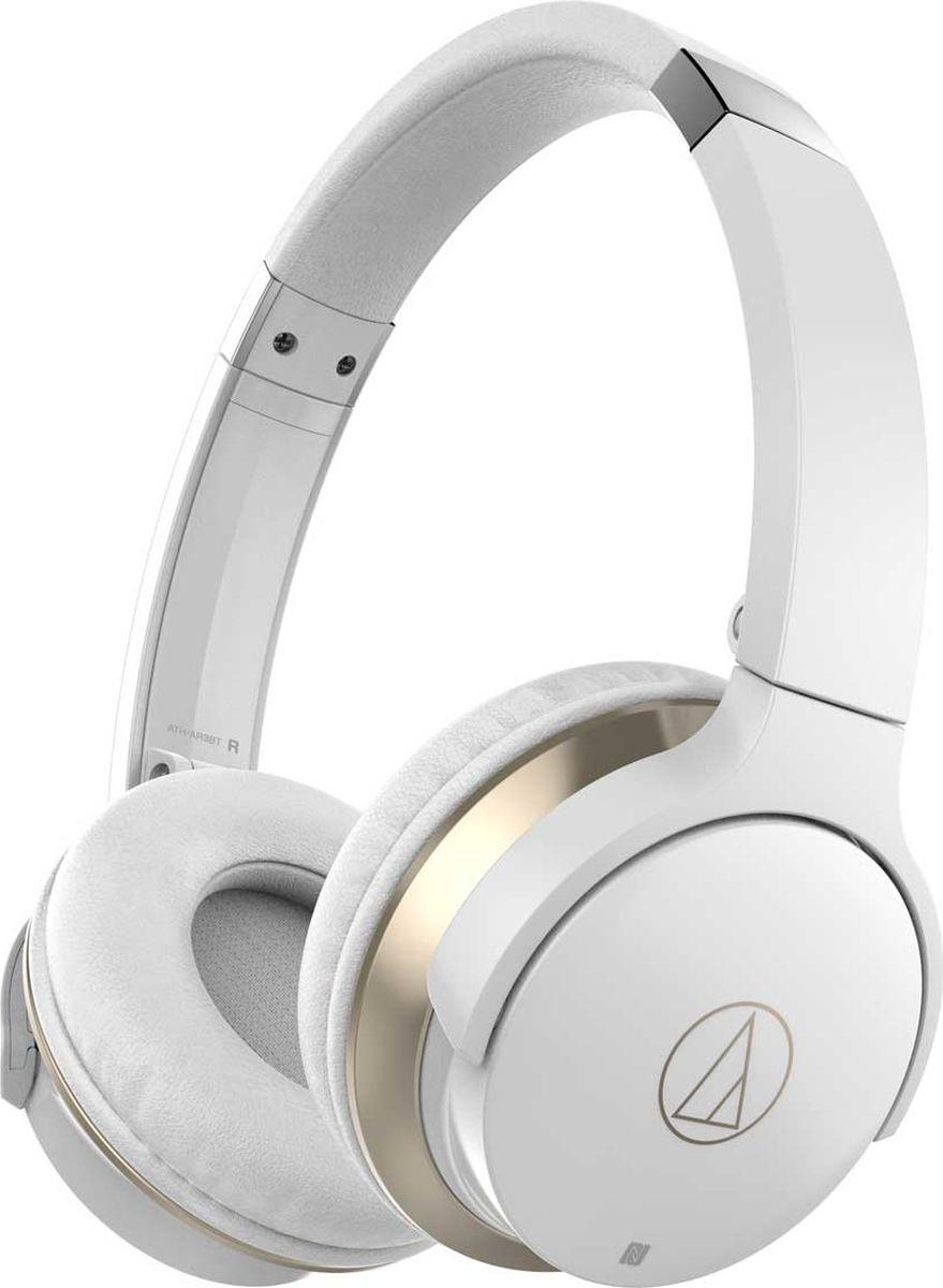 Беспроводные наушники Audio-Technica ATH-AR3BT, белый