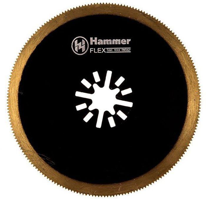 Полотно пильное для МФИ Hammer Flex 220-025 MF-AC 025, диск универсальный, 85 мм 809 108 524 025 средняя