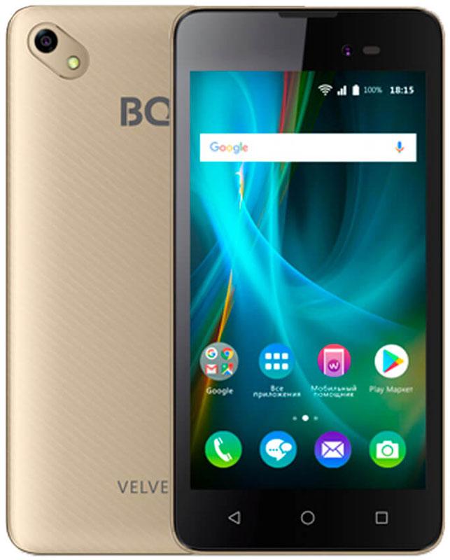 Смартфон BQ Mobile 5035 Velvet 1/8GB, золотой