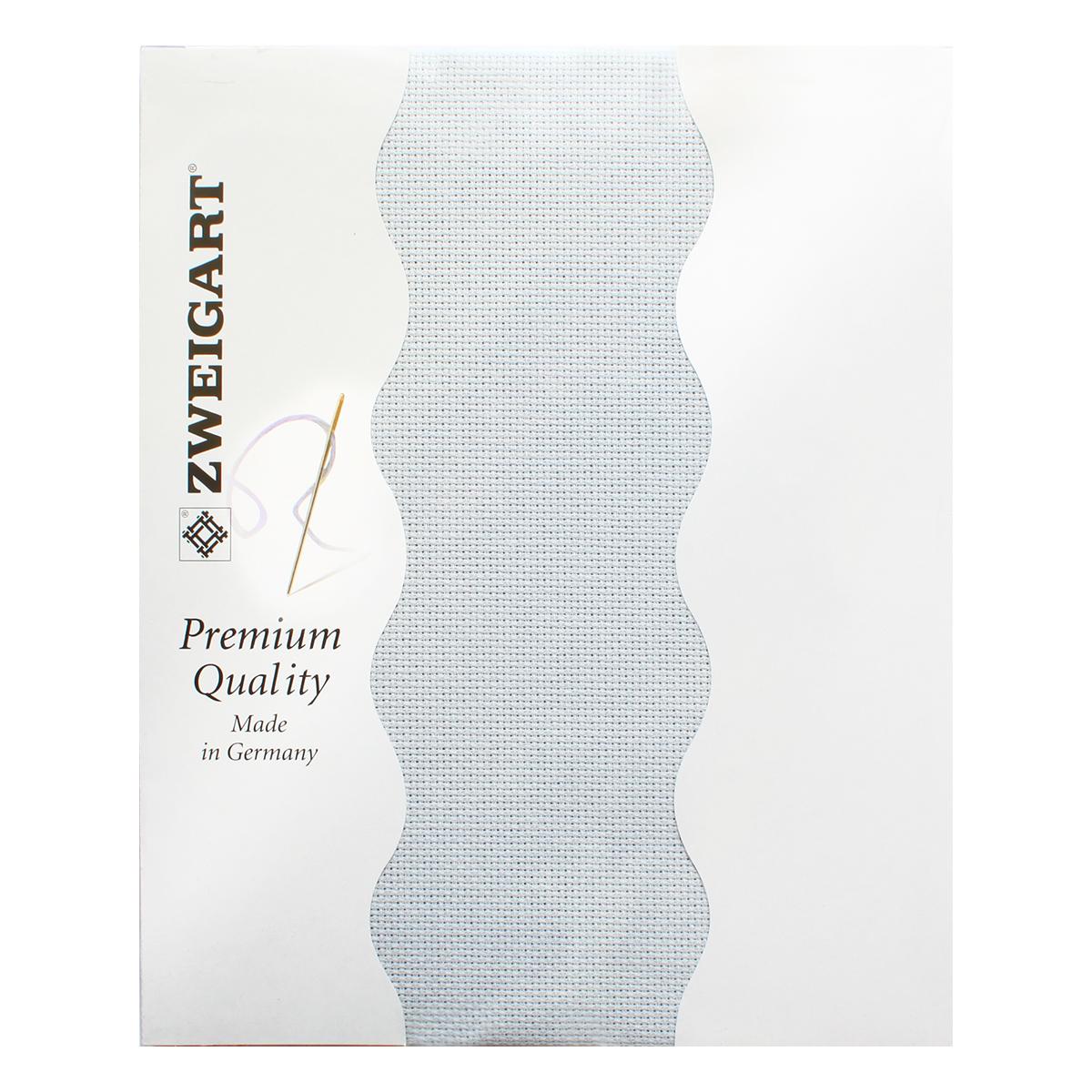 Канва для вышивания Zweigart Aida 16, цвет: светло-серый, 50 х 55 см. 3251/713 aida 16 594