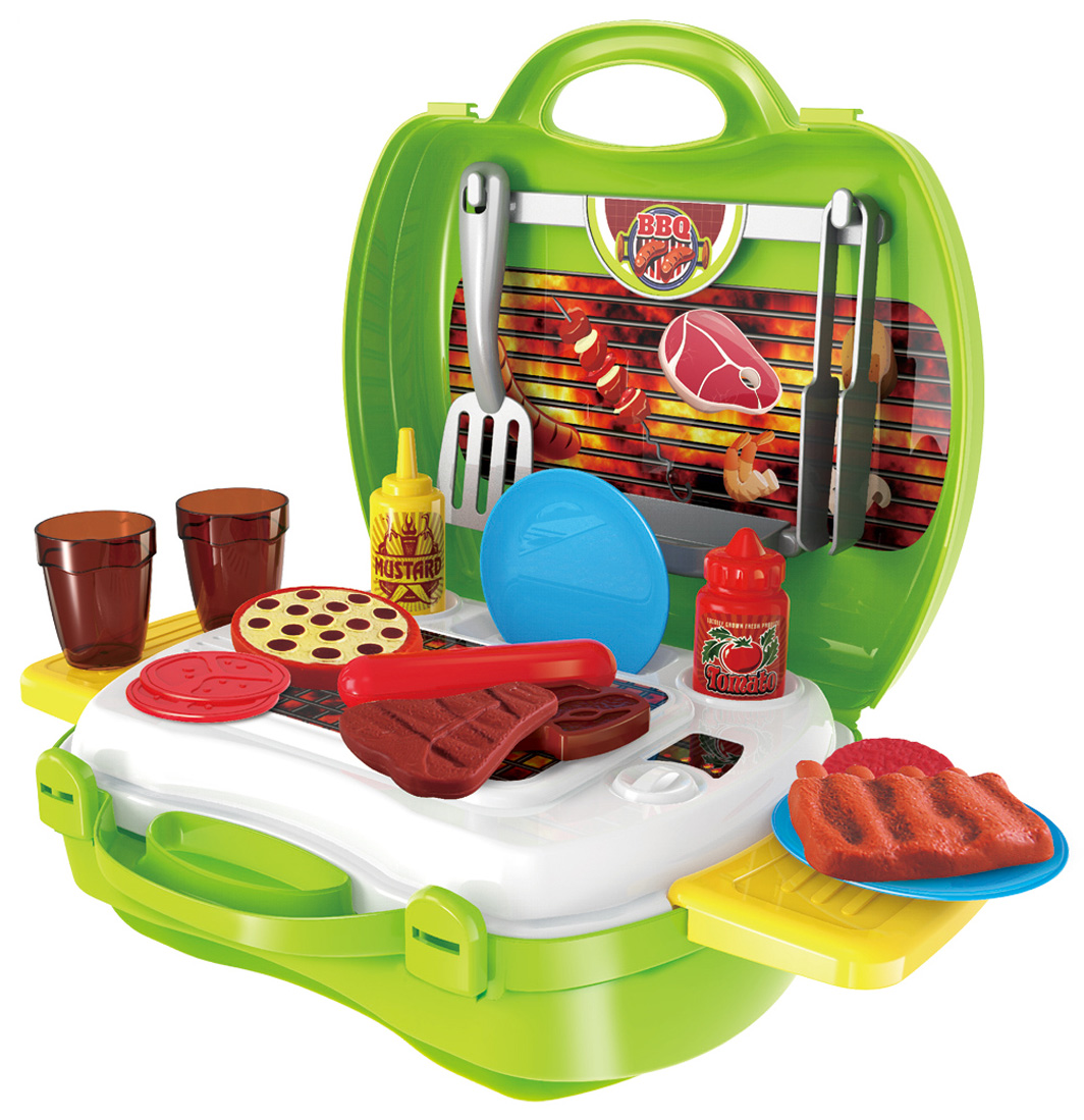 Ami&Co Игровой набор Барбекю в чемодане 1 toy игровой набор в чемоданчике мастер шеф барбекю 23 предмета