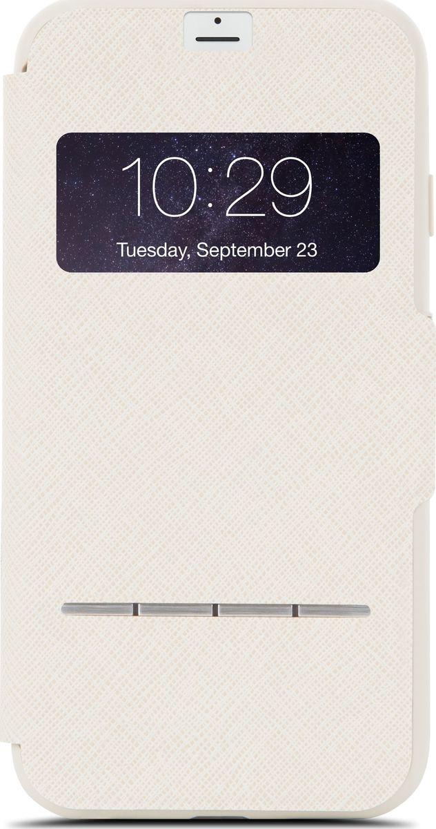 Moshi SenseCover чехол для iPhone 7 Plus/8 Plus, Sahara Beige аксессуар чехол moshi sensecover для iphone 6 plus graphite 99mo072304