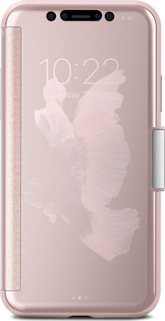 Moshi StealthCover чехол для iPhone X, Pink цена и фото