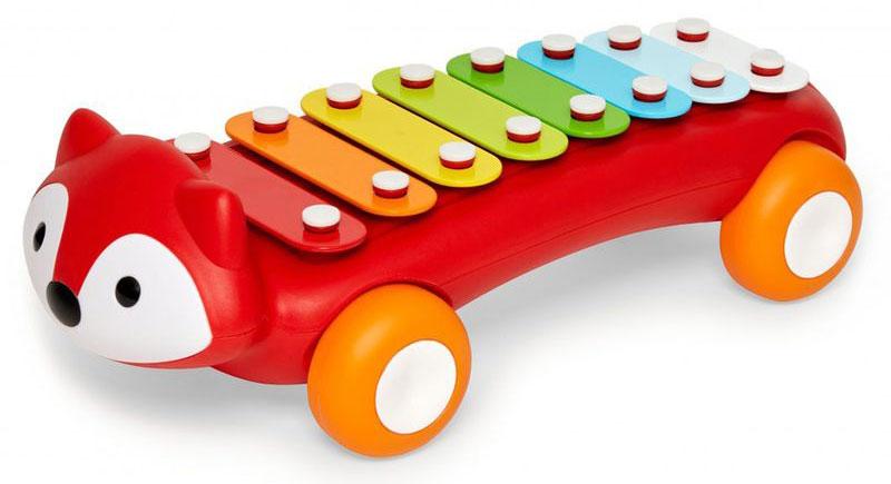 цена на Skip Hop Развивающая игрушка Лиса-ксилофон