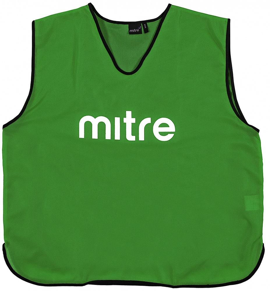Накидка тренировочная Mitre, цвет: зеленый. Размер 122 mitre a3120aaa