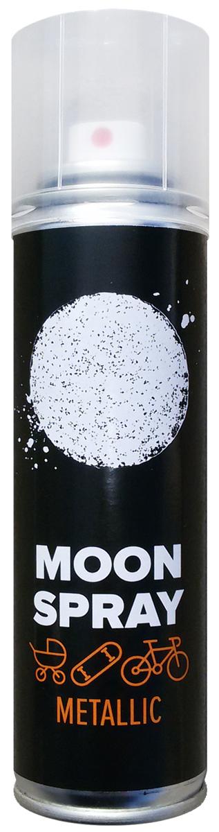 Спрей светоотражающий MOON Spray Metallic, для твердых поверхностей, 150 мл