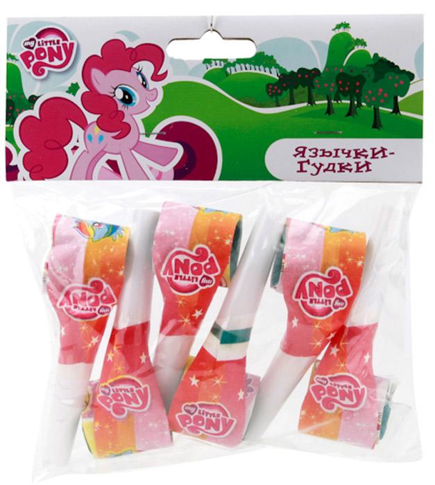 Веселый праздник Набор язычков-гудков My Little Pony 6 шт цены онлайн