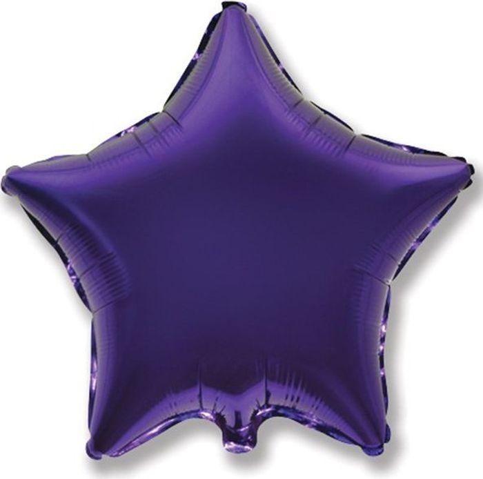 Флексметал Шарик воздушный Звезда цвет фиолетовый флексметал шарик воздушный малышка