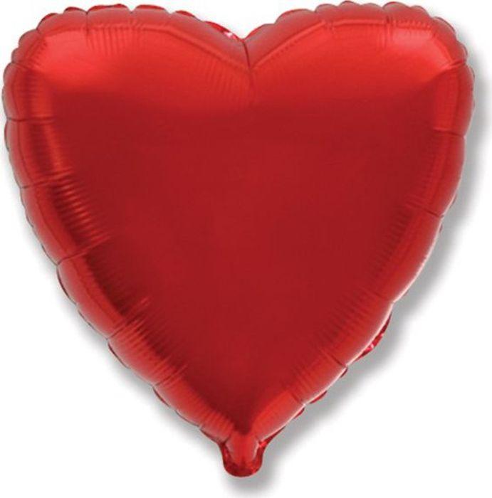 Флексметал Шарик воздушный Ультра Сердце цвет красный флексметал шарик воздушный малышка