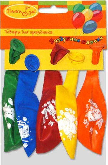 Latex Occidental Набор воздушных шариков Пастель Декоратор Детская тематика 5 шт latex occidental воздушные шары latex occidental марвел человек паук 5 шт пастель декоратор шёлк